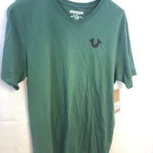 True Religion Military Green T Shirt Men's Size XL